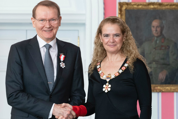 Pekka Sinervo Receives Order of Canada